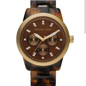 Micheal Kors Tortoiseshell Watch